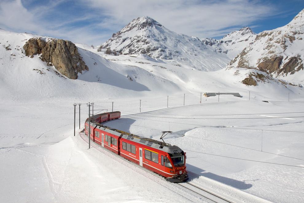 Notte in alta quota con il Trenino Rosso del Bernina | Expotur Viaggi